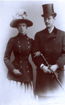 Marie Valerie and Franz Salvator