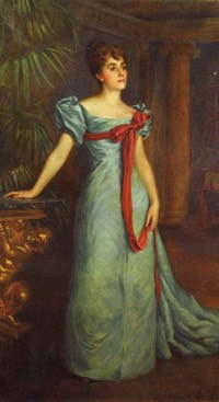 "Mary Adelaide Virginia Thomasina Eupatoria Fitzpatrick Mrs. William Cornwallis-West Chatelaine of Ruthin Castle & Newlands Manor, ""Patsy"""