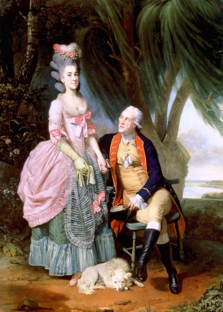Mary and John Wilkes (called John Wilkes and his daughter Polly) by Johann Zoffany (National Portrait Gallery - London, UK) Fro the-athenaeum.org