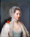Mary Beauclerk, Lady Charles Spencer by Jean-Etienne Liotard (Ashmolean Museum - University of Oxford) X2