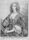 Mary, Duchess of Lennox by Wenceslas Hollar after Sir Anthonis van Dyck