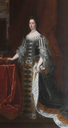 Queen Mary II in court dress by Sir Godfrey Kneller (University of Oxford - Oxford, Oxfordshire UK)