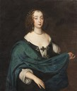Mary Villiers, Duchess of Richmond and Lennox by ? (Skokloster slott - Uppsala, Uppsala (County), Sweden)