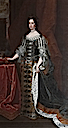 Queen Mary II in court dress by Sir Godfrey Kneller (University of Oxford, Oxford UK)