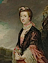 Mary, née Powys (married 1762) Countess of Courtown, Lady of the Bedchamber to Queen Charlotte by Sir Joshua Reynolds (auctioned by Christie's)