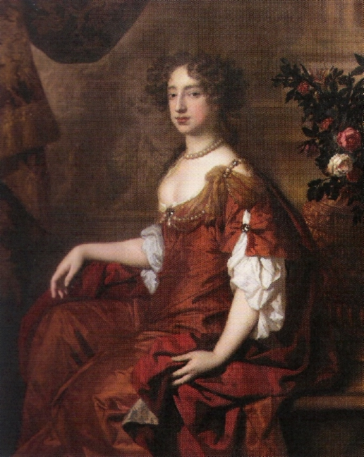 1677 Queen Mary by Sir Peter Lely (National Portrait Gallery, London)