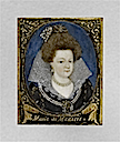 Miniature portrait of Marie de' Medici by ? (location unknown to gogm)