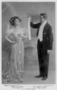 Miss Lily Elsie and Mr Joseph Coyne in The Merry Widow