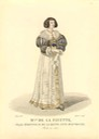 Mlle. de Lafayette, Maid of Honor to Anne of Austria costume illustration From Google search