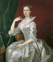 Mrs. Elizabeth Ingram by Bartholomew Dandridge (Temple Newsam House, Leeds Museums and Galleries - Leeds, West Yorkshire, UK) #540422