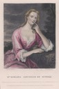 Mrs. Howard, Countess of Suffolk from The Letters of Horace Walpole (Noel Memorial Library, Louisiana State University in Shreveport - Shreveport, Louisiana USA)