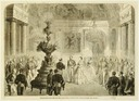 1859 Napoleon III and the Empress Eugénie receive the Grands Corps de l'Etat at the Chateau de Saint-Cloud on 19 July (Versailles)