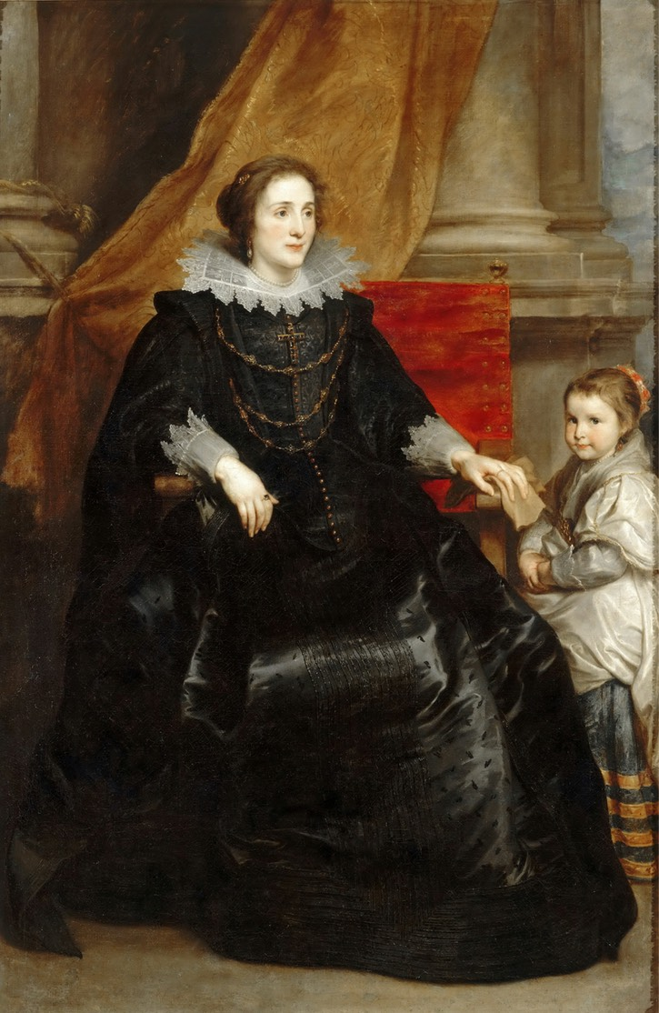 Noble Lady with her son by Sir Anthonis van Dyck (location ?) From forum.artinvestment.ru:blog.php?b=270065&langid=5