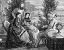 Olga and Karl with Alexander II and Maria Alexandrovna