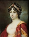 Pauline Bonaparte, princesse Borghese miniature by Jean Jacques Thérésa de Lusse (auctioned by Bamfords) From the lost gallery's photostream on flickr
