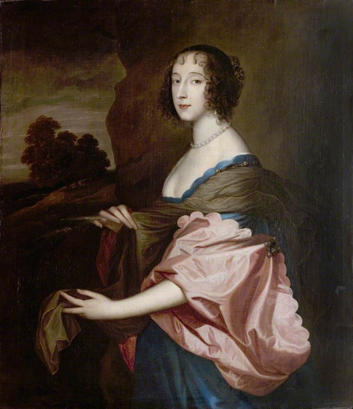 Penelope, Lady Herbert (1620–1647) after Michael Dahl I (Newstead Abbey - Nottingham, East Midlands UK) bbc.co