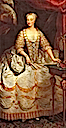 Polyxena of Hesse-Rotenburg, Queen consort of Sardinia by Martin van Meytens (location unknown to gogm)