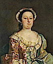 Portrait of a Lady of the Fanshawe Family (thought to be Sarah Parkinson, mother of Mary Fanshawe, née Parkinson) by Joseph Highmore (Valence House Museum - Dagenham, London Borough of Barking and Dagenham UK)
