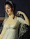Possible Desirée portrait by Robert Lefévre (Art Gallery of South Australia - Adelaide, South Australia Australia)