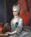 Presumed portrait of Marie-Caroline of Austria attributed to Francesco Lian (auctioned by Proantic) From proantic.com:en:display.php?mode=obj&id=83867