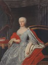 Princess Anna Sophie of Schwarzburg-Rudolstadt (1700-1780), duchess of Saxe-Coburg-Saalfeld by ? (location unknown to gogm) Wm