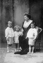 Princess Beatrice and her daughter Ena's children