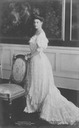 Princess Cecilie in gala dress