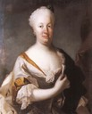 Princess Charlotte Amalie of Hesse-Philippsthal by ? (location ?) Wm fixed upper and right edges