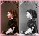 Princess Dagmar after and before colorization by Malenkaya-Glosoli From tumblr.com-tagged-maria-feodorovna