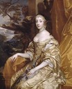 Princess Henrietta Anne Stuart, Duchesse d'Orléans, Charles II's beloved sister by Sir Peter Lely (Goodwood Collection, Goodwood House - Chichester, West Sussex UK)