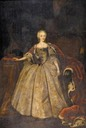 Princess Louise of Denmark (1726–1756), Duchess of Saxe-Hildburghausen by workshop of Johann Salomon Wahl (location unknown to gogm)