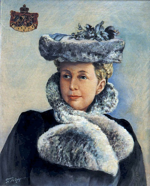 Princess Marie Alexandrovna Prozorovsky-Galitzine (1855-1930), Maid of honor to Empresses Maria Fedorovna and Alexandra Fedorovna