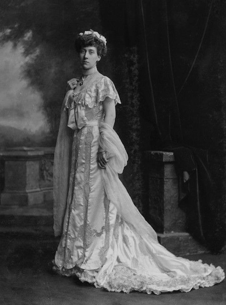 Princess Marie Louise of Schleswig Holstein From pinterest.com/GrandMarmey/princess-marie-louise/ remove navigation marks deflaw detint X 1.5