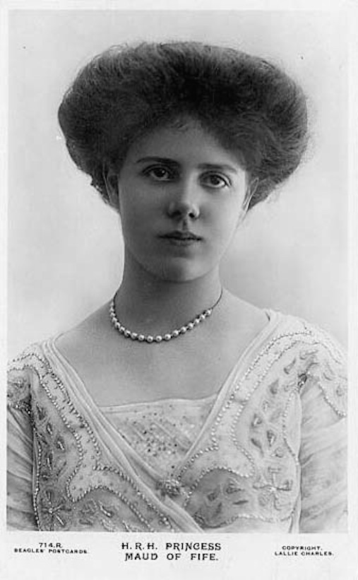 Princess Maud of Fife by Lallie Charles X 1.5 detint copy