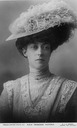 Princess Toria wearing feathered hat by W. & D. Downey