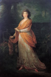 Princess Varvara V. Golitsyn, nee Engelhardt (1761-1815) by Heinrich Friedrich Füger (Alte Nationalgalerie - Berlin, Germany) From liveinternet.r::users:2492363:rubric:2544672: