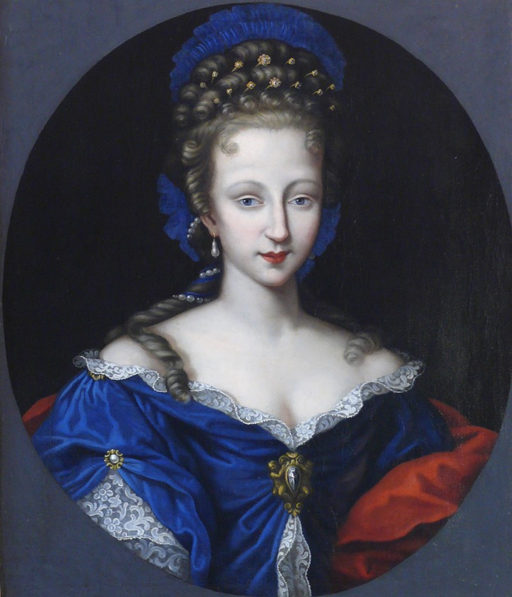 Princess Violante di Baviera Granduchessa di Toscany moglie di Cosimo III de 'Medici by ? (location unknown to gogm) the lost gallery