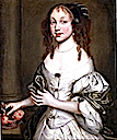Princess Louisa of the Palatinate wearing a white dress by ? (location unknown to gogm)