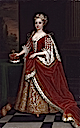 Princess of Wales Caroline Caroline Wilhelmina of Brandenburg-Ansbach by Sir Godfrey Kneller after 1716 original with Royal Collection (National Portrait Gallery, London)
