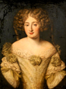 Principessa Maria Isabella Massimo Muti Papazzurri Muti Papazzurri by Jacob Ferdinand Voet (auctioned by Christie's) From godsandfoolishgrandeur.blogspot.com/2014/12/ornamented-ladies-portraits-of-french.html