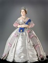 1860 George Stuart figurine of Queen Victoria