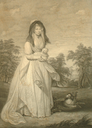 Queen Charlotte engraving by Thomas Ryder and Thomas Ryder Junior after Sir William Beechey (auctioned by Bonhams)