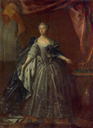 Queen Lovisa Ulrika of Sweden by George Engelhardt Schroeder (Royal Armoury, Skokloster Castle and The Hallwyl Museum - Stockholm Sweden)