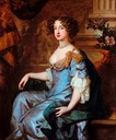 Queen Mary II by Sir Peter Lely (location ?) From hipnosnews.wordpress.com:2015:05:23:maria-ii-reina-de-inglaterra-1662-1695:queen mary ii: trimmed