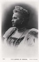 Queen Olga of Greece card