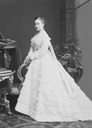 """1874"" Queen Olga when a Grand Princess attributed to Karl [Charles] Bergamasco (Royal Collection) From the lost gallery's photostream on flickr despot detint"