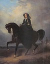 Queen Sophie equestrian by ? (location unknown to gogm)