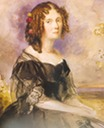 Queen Sophie watercolor by ? (location unknown to gogm)
