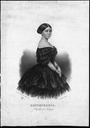 1858 Queen Stephanie (Estefânia) of Portugal (Biblioteca Nacional Digital, Portugal)