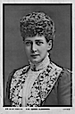 Queen Alexandra wearing top with lace lapels